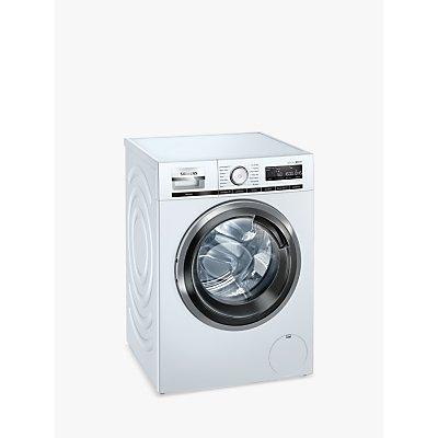 Siemens iQ500 WM16XMH9GB Freestanding Washing Machine with WiFi, 9kg Load, 1600rpm, White