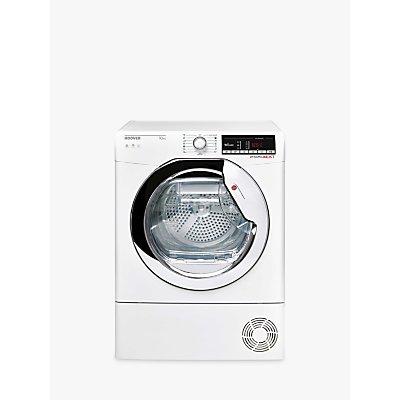 Hoover Dynamic Next DXOC10TCE-80 Condenser Freestanding Tumble Dryer, 10kg Load, B Energy Rating, White