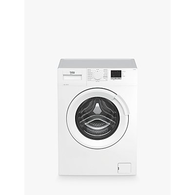 Beko WTL74051W Freestanding Washing Machine, 7kg Load, A+++ Energy Rating, 1400rpm Spin, White