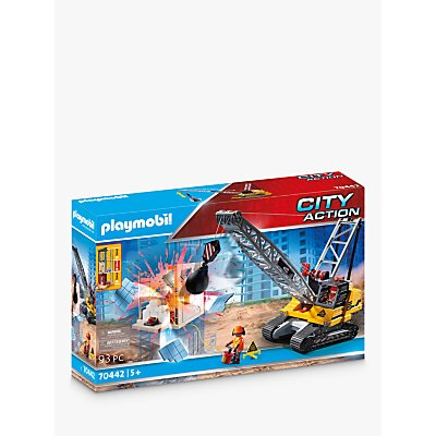 Playmobil City Action 70442 Demolition Crane