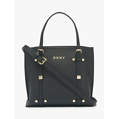 DKNY Bo Leather East West Tote Bag, Black