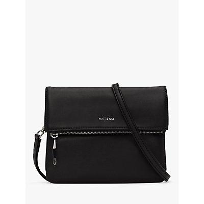 Matt & Nat Loom Collection Hiley Vegan Cross Body Bag, Black