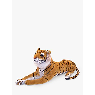 Melissa & Doug Tiger Plush Soft Toy