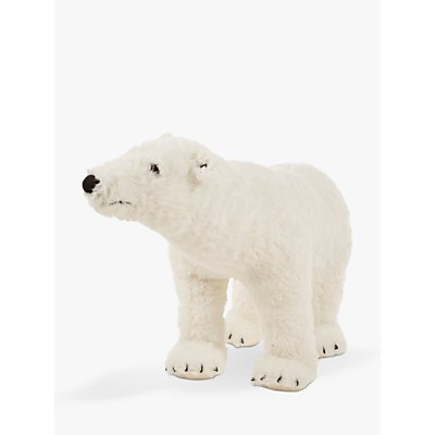 Melissa & Doug Polar Bear Plush Soft Toy