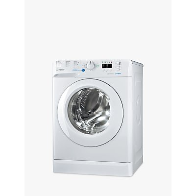 Indesit Innex BWA 81484X W Freestanding Washing Machine, 8kg Load, A+++ Energy Rating, 1400rpm Spin, White