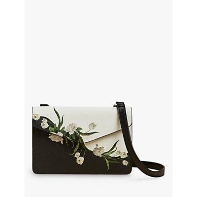 Ted Baker Farzane Floral Cross Body Bag, Black