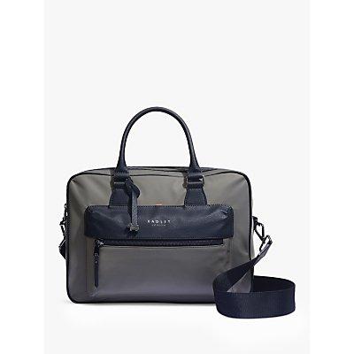 Radley Clerkenwell Large Zip Top Multiway Bag  London Fog - 5025546520725
