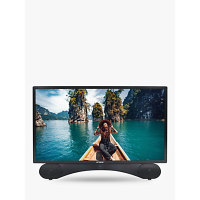 Linsar X24DVDMK2 (2020) LED Full HD 1080p TV/DVD Combi, 24 inch with Freeview HD, Black
