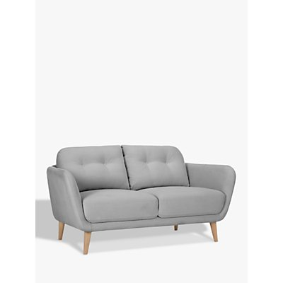 House by John Lewis Arlo Small 2 Seater Sofa, Light Leg