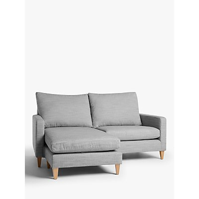 John Lewis & Partners Bailey High Back LHF Chaise End Sofa