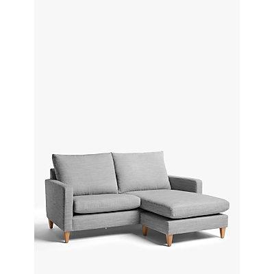 John Lewis & Partners Bailey High Back RHF Chaise End Sofa