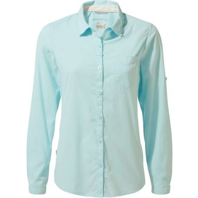 NosiLife Bardo Long-Sleeved Shirt - Capri Blue