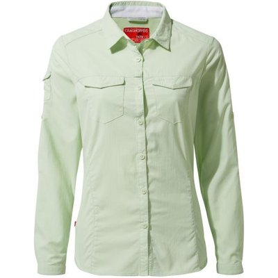 NosiLife Adventure II Long-Sleeved Shirt - Soft Pistachio