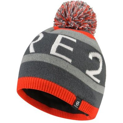 Boys' Vindicate Dare2b Bobble Hat Fiery Red