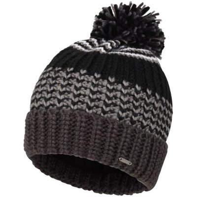 Men's Havoc Bobble Hat Black Ebony Grey
