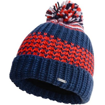 Men's Havoc Bobble Hat Admiral Blue Fiery Red