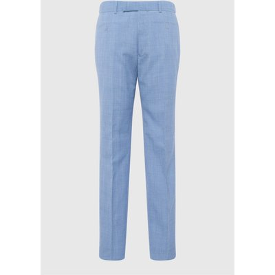 Sky Blue Marl Suit Trouser - sky blue marl
