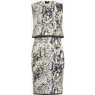 Spotlight Boa Layer Dress - fanzine multi