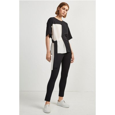 Edeline Light Mix T-Shirt - black/white