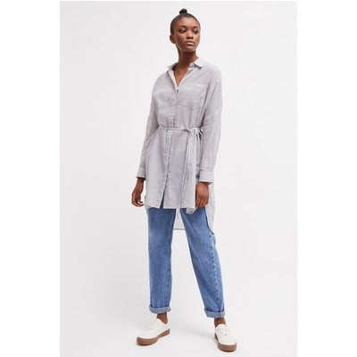 Pruet Lawn Thin Stripe Shirt - perla/summer white