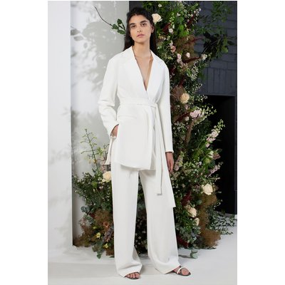 Amato Tux Tailored Wedding Suit Jacket - summer white