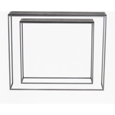 Shadow Console Tables - black