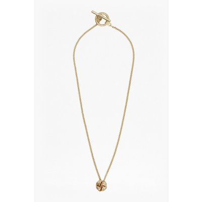 Knotted Necklace - gold