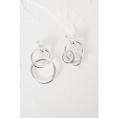 Ball Balls Mismatch Earrings - silver