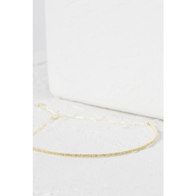 Crystal Choker - gold