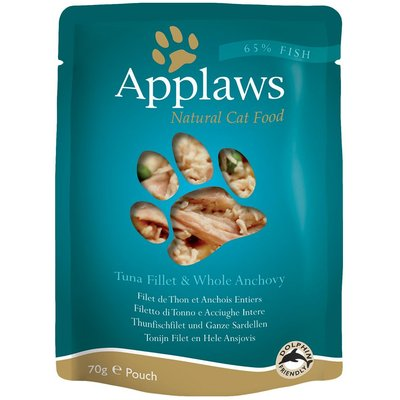 Applaws Cat Food Pouches 12 x 70g - Tuna with Sea Bream