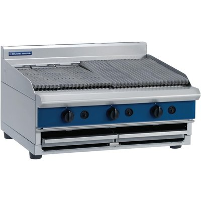 Blue Seal Countertop Chargrill LPG G596 B - 5053661169390