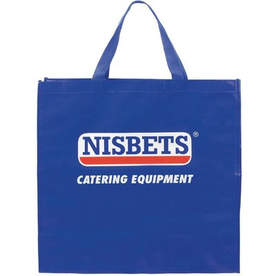 Nisbets Bag for Life Blue Small