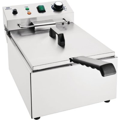 Nisbets Essentials Single Tank Electric Fryer - 5050984580840