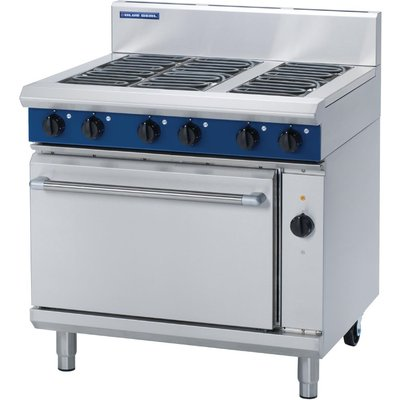 Blue Seal Electric Oven Range with Convection Oven E56D - 5053661011743