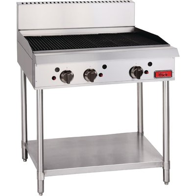 Thor Natural Gas Freestanding 3 Burner Chargrill - 5050984387128