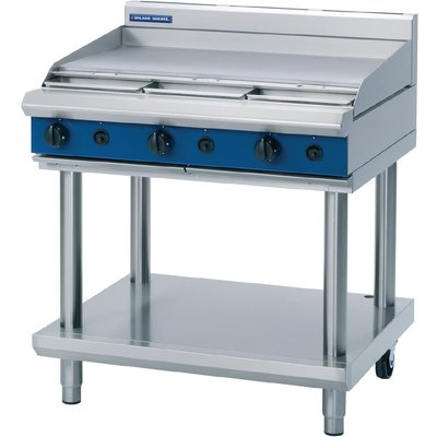 Blue Seal Evolution Cooktop Griddle Burner Nat Gas on Stand 900mm G516A LS N - 5053661047438