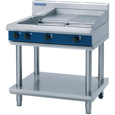 Blue Seal Evolution Cooktop 2 Element Griddle Electric on Stand 900mm E516B LS - 5053661048008