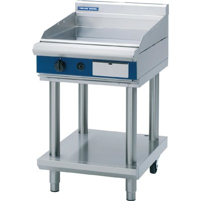 Blue Seal Evolution Griddle with Leg Stand LPG 600mm GP514 LS L - 5053661169956