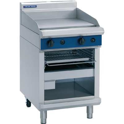 Blue Seal Evolution Griddle Toaster LPG 600mm G55T L - 5053661170013
