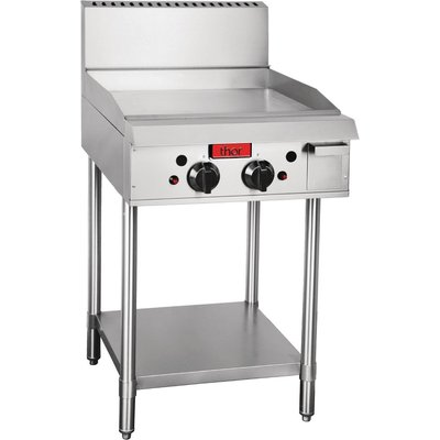 Thor Freestanding Natural Gas 2 Burner Griddle - 5050984387067