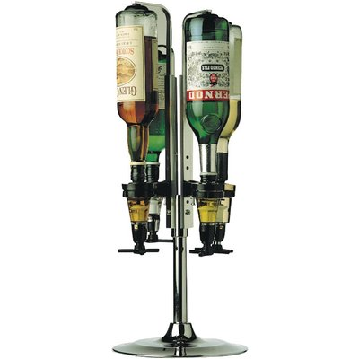 Beaumont Rotary Optic Stand 4 Bottle - 5020229800996