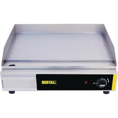 Buffalo Countertop Electric Griddle 525x 450mm - 5050984030895