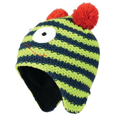 Kids Look Out II Beanie Hat - Electric Lime