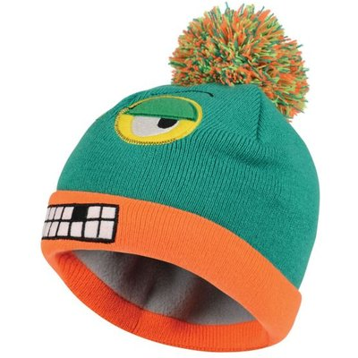 Kids Look Out II Beanie Hat - Nordic Green