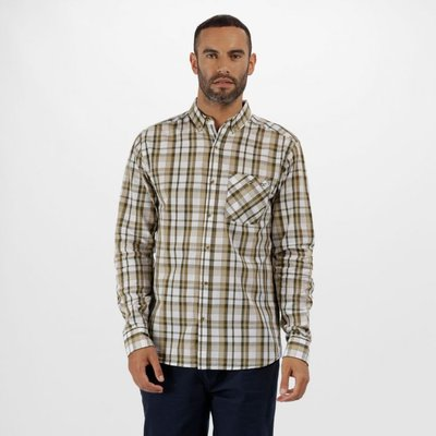 Bacchus Coolweave Long Sleeve Shirt - Ivy Green