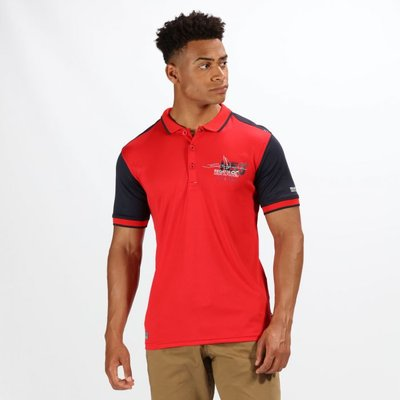 Men's Tremont III Navigator Polo Shirt - Pepper Navy