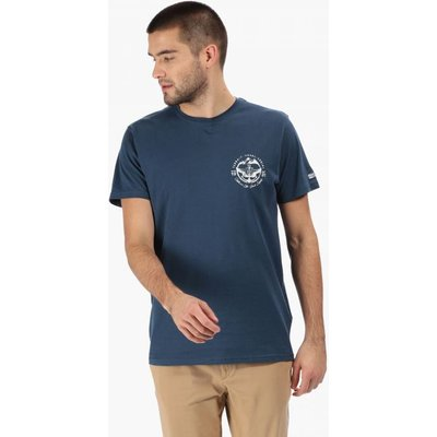 Men's Cline III Graphic Print T-Shirt - Blue Wing