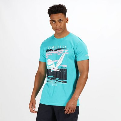 Men's Cline III Graphic Print T-Shirt - Ceramic