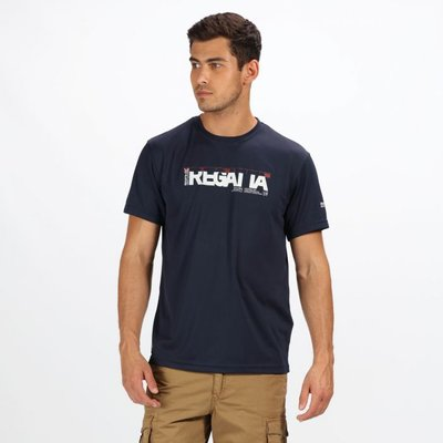 Men's Tancredo II Printed T-Shirt - Navy