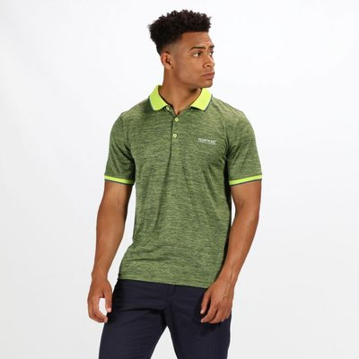 Men's Remex II Jersey Polo Shirt - Lime Punch